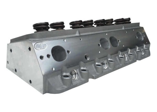 """Dart 11971142P Cylinder Heads Aluminum Small Block Chevy Pro1 227cc 66cc 2.080"""" x 1.600"""" Straight Plug, Assembly w/ 1.437"""" Dual Springs for Hydraulic Roller or Flat Tappet Lifters CNC Ported"""