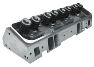 "Dart 11980060P Cylinder Heads Aluminum Small Block Chevy Pro1 245cc 66cc 2.100"" x 1.600"" Straight Plug, Bare Casting CNC Ported"