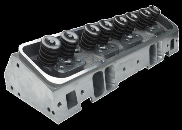 "Dart 11980060P Cylinder Heads Aluminum Small Block Chevy Pro1 245cc 66cc 2.100"" x 1.600"" Straight Plug, Bare Casting CNC Ported"