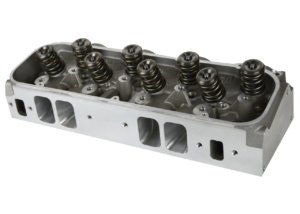 "Dart 19874189 Cylinder Heads Aluminum Big Block Chevy Pro1 365cc 2.350"" x 1.850"", CNC Assembly w/ 1.650"" Triple Springs for Solid Roller Cam"