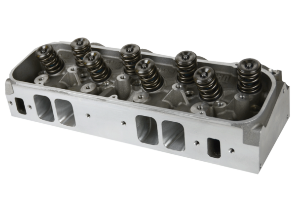 """Dart 19874186 Cylinder Heads Aluminum Big Block Chevy Pro1 365cc 2.350"""" x 1.850"""", CNC Assembly w/ 1.625"""" Dual Springs for Solid Roller Cam"""