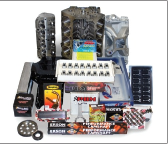 LS/SBC Chevy 427 Cubic Inch Hybrid Drag Race Engine Package