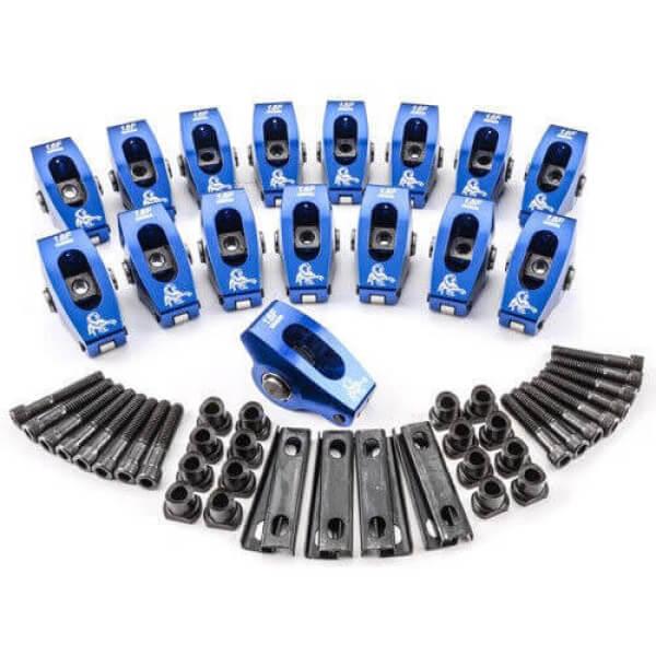 "Scorpion 1021 - Roller Rockers Race Series Ford Small Block Pedestal mount 5/16"" 1.6"
