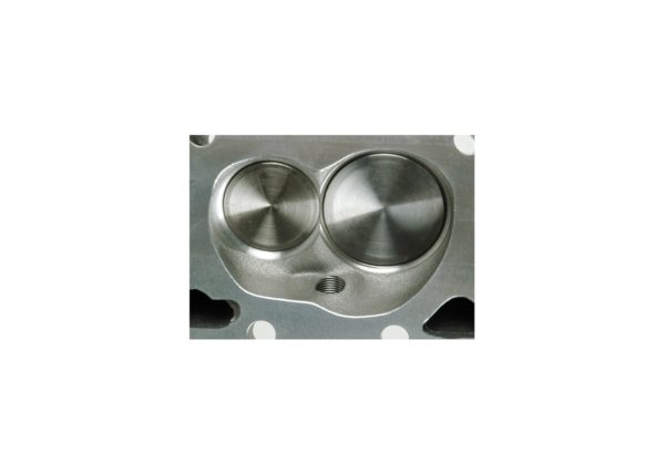 "Dart 127628 Cylinder Heads Aluminum Small Block Chevy SHP 220cc 72cc 2.080"" x 1.600"" Straight Plug, Assembly w/ 1.550"" Dual Springs for Solid Roller Cam"
