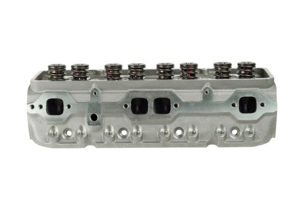 """Dart 127222 Cylinder Heads Aluminum Chevy Small Block SHP 180cc 72cc 23Degree 2.020"""" x 1.600"""" Straight Plug, Assembly w/ 1.437"""" springs for Solid flat tappet lifters"""