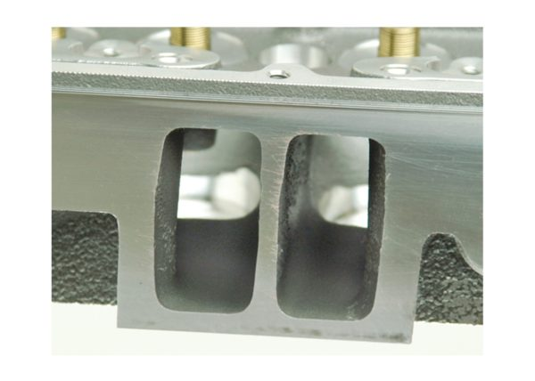 "Dart 127211 Cylinder Heads Aluminum Chevy Small Block SHP 180cc 72cc 23Degree 2.020"" x 1.600"" Straight Plug, Bare Castings"