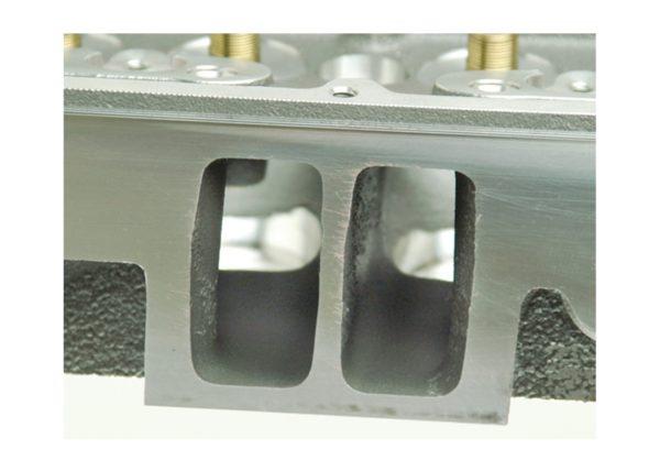 "Dart 127615  Cylinder Heads Aluminum Small Block Chevy SHP 220cc 72cc 2.050"" x 1.600"" Straight Plug, Bare Castings"