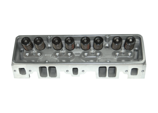 "Dart 127528  Cylinder Heads Aluminum Small Block Chevy SHP 220cc 64cc 2.080"" x 1.600"" Straight Plug, 1.550"" Dual Springs for Solid Roller Lifters"