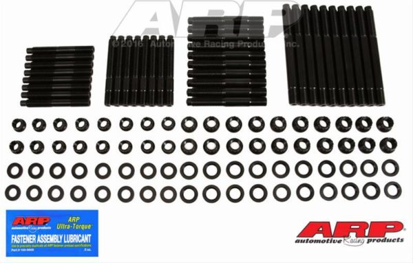 ARP 154-4302 - Cylinder Head Stud Kit, Pro Series, 12pt, BMP/World 10Degree Heads w/ BMP Aluminum, World Manowar (pre 2018) Blocks