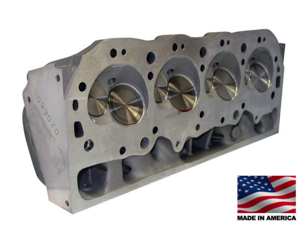"Bill Mitchell Products BMP 020650C - Cylinder Heads Aluminum Chevy Big Block 345cc 119cc 24Degree 2.300"" x 1.880"" CNC PORTED"