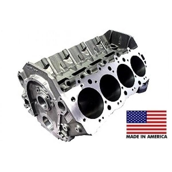 World Products 095100 - Cast Iron Merlin IV Engine Block Chevy Big Block 10.200 Deck, 4.245 Bore, Billet Caps