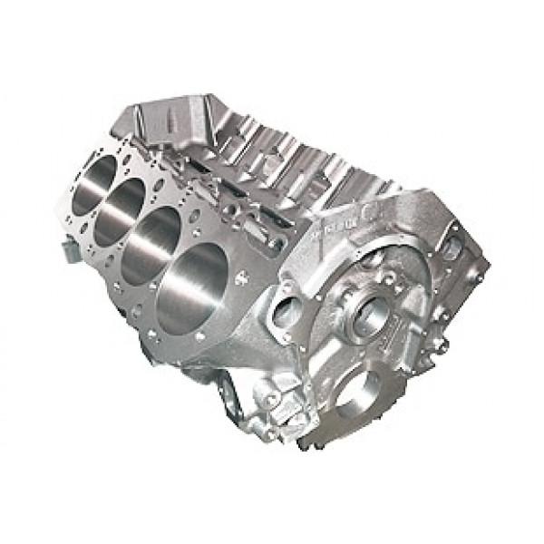 World Products 095012 - Cast Iron Merlin IV Engine Block Chevy Big Block 9.800 Deck, 4.595 Bore, Billet Caps