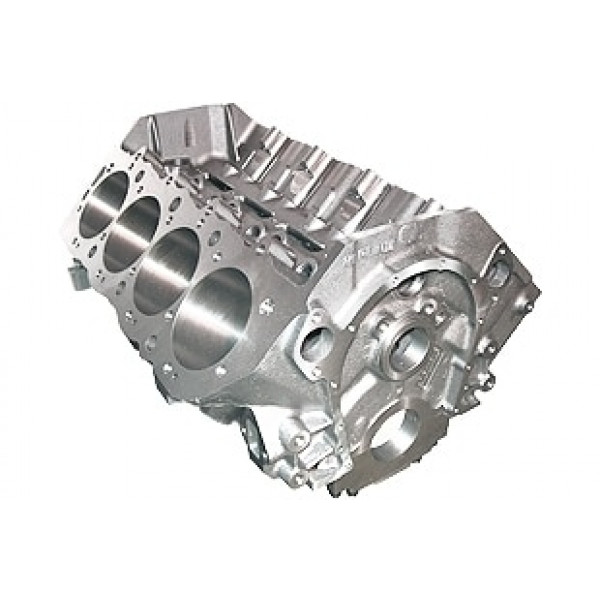 World Products 091102 - Cast Iron Merlin IV Engine Block Chevy Big Block 9.800 Deck, 4.595 Bore, Nodular Caps