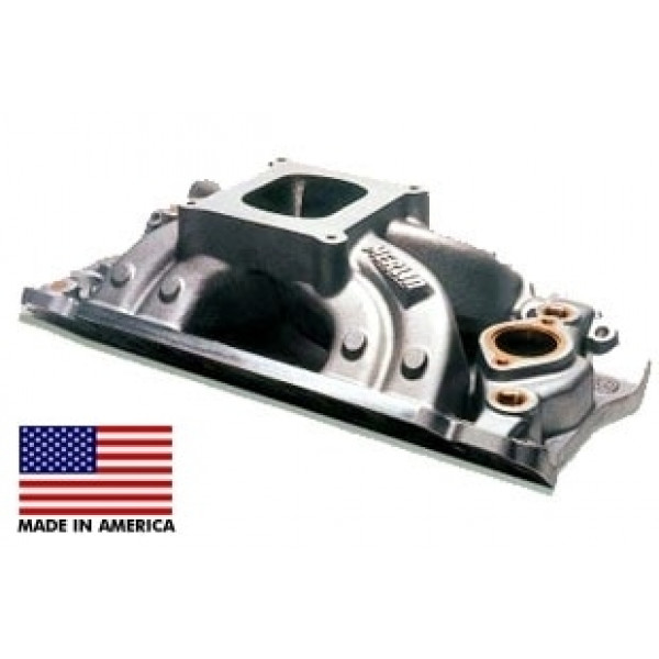 "Bill Mitchell Products BMP 063034 - Intake Manifold Chevy Big Block 9.800"" 4150 Carb Flange MARINE"