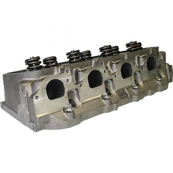 """World Products 030040-1 - Cylinder Heads Cast Iron Chevy Big Block MERLIN 269cc Oval Port 269cc 119cc 26Degree 2.300"""" x 1.880"""", Assembly w/ 1.500S springs for hydraulic flat tappet lifters"""