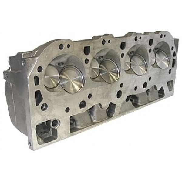 "World Products 030630 - Cylinder Heads Cast Iron Chevy Big Block MERLIN 345cc Rectangle Port 350cc 119cc 26Degree 2.300"" x 1.880"", Bare Castings"