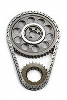 ROLLMASTER CS2040 - Timing Chain Chevy Big Block 396/454 PRE/EFI Gold Series with torrington bearing & nitrided sprockets, 9 keyway crank sprocket