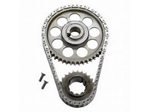 ROLLMASTER CS3060 - Timing Chain Ford Small Block 302/351 HO/EFI Gold Series with Shim & nitrided sprockets, 9 keyway crank sprocket