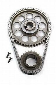 ROLLMASTER CS4020 - Timing Chain Ford Big Block429/460 PRE/EFI Gold Series with torrington bearing & nitrided sprockets, 9 keyway crank sprocket