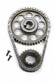 "ROLLMASTER CS4020LB5 - Timing Chain Ford Big Block 429/460 PRE/EFI Gold Series with torrington bearing & nitrided sprockets, 9 keyway crank sprocket, -.005"" shorter chain"
