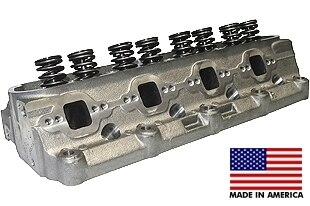 """World Products 053030-1 - Cylinder Heads Cast Iron Ford Small Block WINDSOR JR. 180cc 58cc 20Degree 1.940"""" x 1.500"""", Assembly w/ 1.250"""" springs for hydraulic flat tappet lifters"""