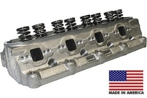"World Products 053040-2 - Cylinder Heads Cast Iron Ford Small Block WINDSOR SR. 200cc 64cc 20Degree 2.020"" x 1.600"", Assembly w/ 1.437"" springs for solid flat tappet or hyd.roller lifters"