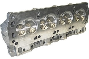 """World Products 053040-3 - Cylinder Heads Cast Iron Ford Small Block WINDSOR SR. 200cc 64cc 20Degree 2.020"""" x 1.600"""", Assembly w/ 1.437"""" springs for solid.roller lifters"""