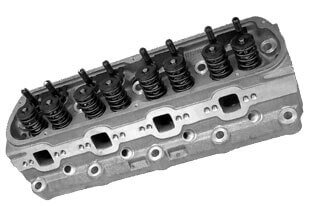 """World Products 053040-2 - Cylinder Heads Cast Iron Ford Small Block WINDSOR SR. 200cc 64cc 20Degree 2.020"""" x 1.600"""", Assembly w/ 1.437"""" springs for solid flat tappet or hyd.roller lifters"""
