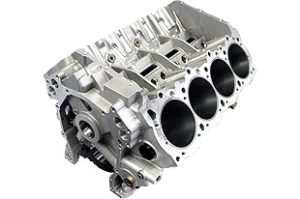 Bill Mitchell Products BMP 088510 - Aluminum Engine Block Hemi Block 10.720 Deck, 4.240 Bore, Billet Caps