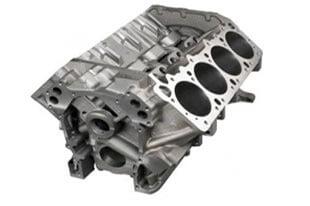 Mopar P5153860AB - Engine Block Cast Iron 440 Wedge