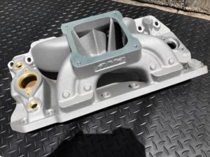 "Bill Mitchell Products BMP 063043 - Intake Manifold Chevy Big Block 10.200"" 4500 Carb Flange MARINE"