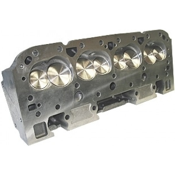 """World Products 014150-3 - Cylinder Heads Cast Iron Chevy Small Block MOTOWN 220cc 64cc 23Degree 2.080"""" x 1.600"""" Angle Plug, Assembly w/ 1.550"""" springs for solid roller lifters"""