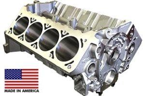 World Products 084081 - Cast Iron Motown/LS Engine Block Chevy Small Block 350 Mains, 4.120 Bore, Nodular Caps