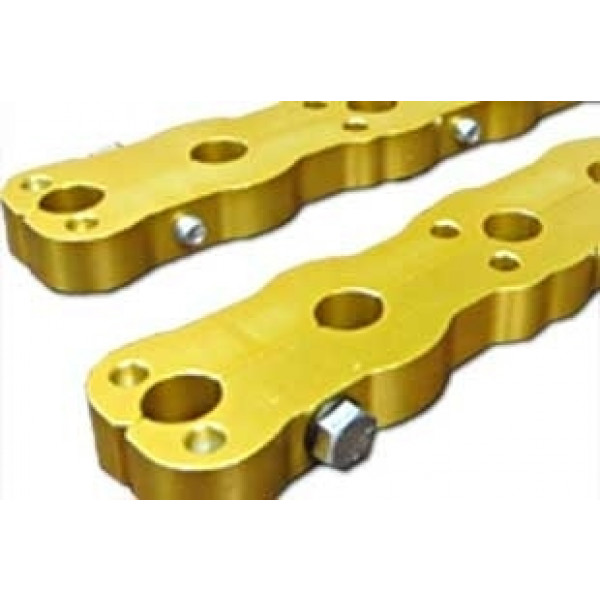 Bill Mitchell Products 702452 - Chevy Small Block Stud Girdle (BMP Aluminum Cylinder Heads)
