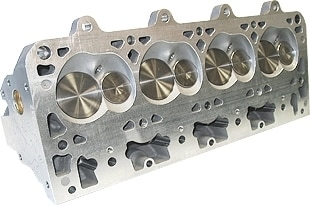"""Bill Mitchell Products BMP 025350C - Cylinder Heads Aluminum Chevy LS7 296cc 64cc 12Degree 2.080"""" x 1.600"""" CNC PORTED"""