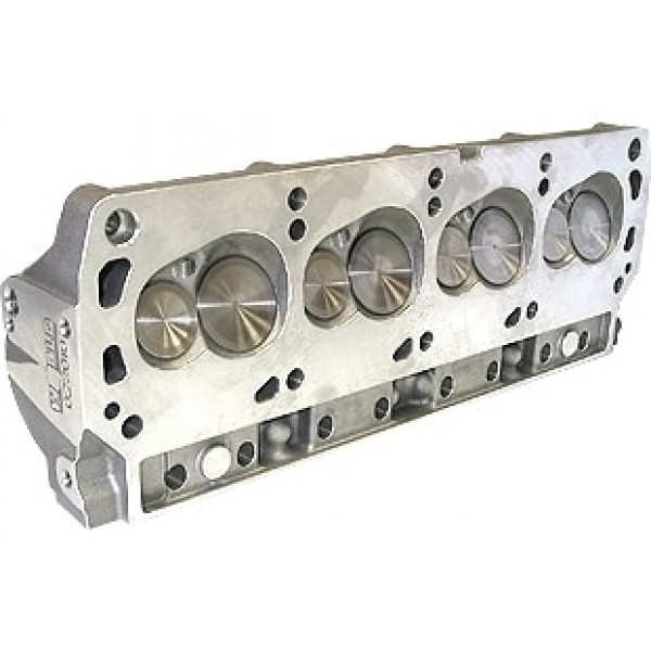 """Bill Mitchell Products BMP 023010C - Cylinder Heads Aluminum Ford Small Block 245cc 64cc 18Degree 2.080"""" x 1.600"""" CNC PORTED"""
