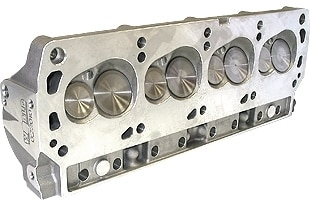 """Bill Mitchell Products BMP 023005C - Cylinder Heads Aluminum Ford Small Block 228cc 64cc 18Degree 2.020"""" x 1.600"""" CNC PORTED"""