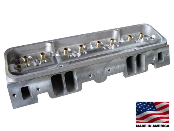"""Bill Mitchell Products BMP 024015 - Cylinder Heads Aluminum Chevy Small Block 215cc 64cc 23Degree 2.080"""" x 1.600""""(EACH) VORTEC STYLE"""