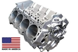 World Products 087120 - Cast Iron Engine Block Ford Small Block 302 Mains, 8.200 Deck, 4.115 Bore, Billet Caps