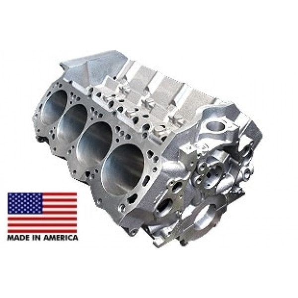 World Products 087182 - Cast Iron Engine Block Ford Small Block 351 Mains, 9.500 Deck, 4.120 Bore, Billet Caps