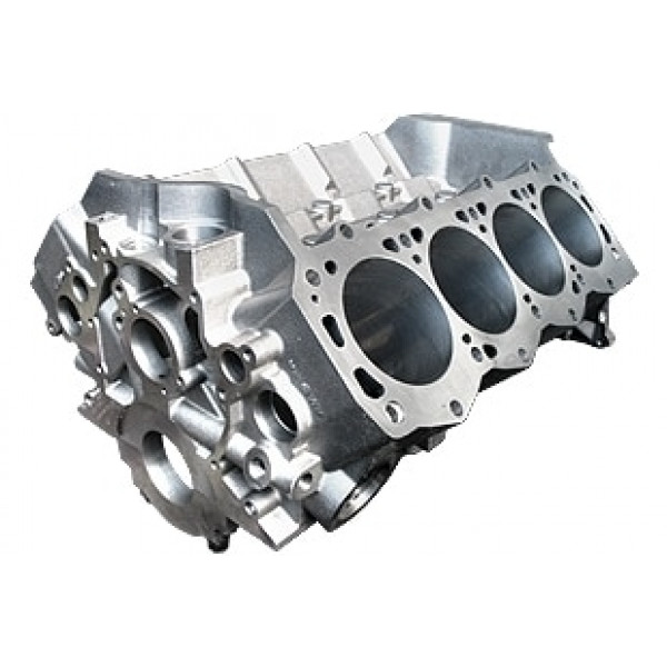 World Products 087160 - Cast Iron Engine Block Ford Small Block 302 Mains, 9.200 Deck, 4.120 Bore, Billet Caps