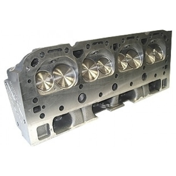"World Products 042670 - Cylinder Heads Cast Iron Chevy Small Block S/R Torquer 170cc 76cc 23Degree 2.020"" x 1.600"" Straight Plug, Bare Casting"