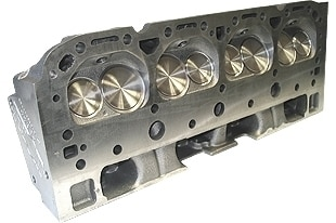 "World Products 043610 - Cylinder Heads Cast Iron Chevy Small Block S/R 170cc 67cc 23Degree 1.940"" x 1.500"" Straight Plug. Bare Casting"