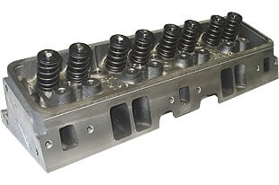 "World Products 042660-1 - Cylinder Heads Cast Iron Chevy Small Block S/R Torquer 170cc 67cc 23Degree 2.020"" x 1.600"" Straight Plug, Assembly w/ 1.250"" springs for hydraulic flay tappet lifters"