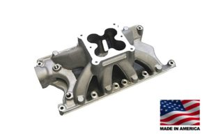 "Bill Mitchell Products BMP 063416 - Intake Manifold Ford Small Block 9.500"" 4500 Carb Flange"